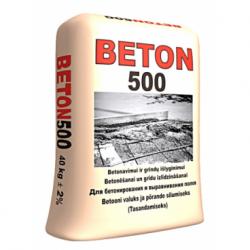 Mišinys betonav. BETON 500...