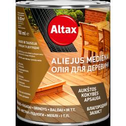 ALTAX aliejus medienai